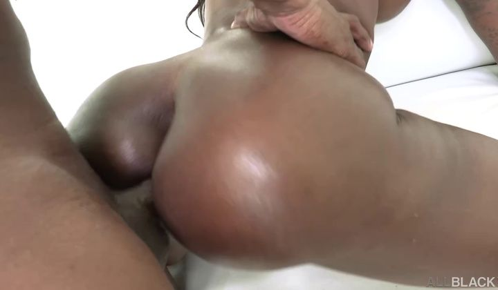 Ebony Mystique - Ebonys First Rectal