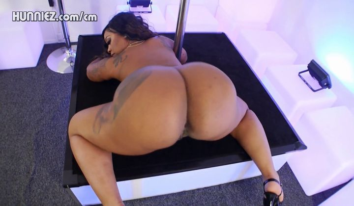 Ass - Lawd Mercy – Black Body Stocking On Dance Stage